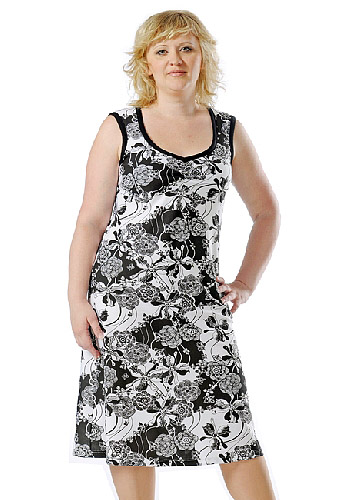 трикотажные платья для полных женщин.